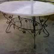Столики из металла. Для сада и дома. фото