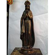 Пресвятая дева Мария, изготовление.