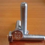 Болт М12х60 DIN933 8.8 Ц фото