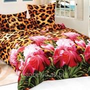 Комплект постельного белья ЕВРО- САТИН 3D А 01-6 фото