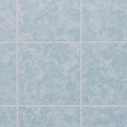Панель листовая «Eucatex», голубая плитка 15х15 фото