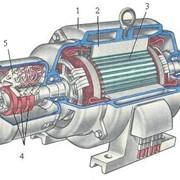 Роторы, ротор в сборе к ДПЭ-52 54 кВт фото