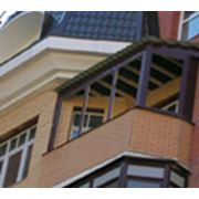 Ремонт балконов, ремонт балконных козырьков, устройство мягк.