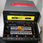 Автомобильный мультимедиа-центр 7дюймов,2din,Пип,DVD-проигрыватель для всех автомобилей,GPS+BT+FM+IPOD фото