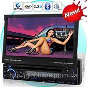 Дорога Ms 7-Дюймовый Сенсорный экран, DVD Автомобиля (1DIN, GPS И DVB-T) фото