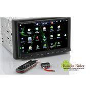Knight Rider - 7-Дюймовый Android 2.3 Автомобильный DVD с 3G Интернет wi-fi, GPS И DVB-T фото