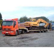 Перевозка негабаритных и опасных грузов фото