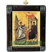 Mt. Athos Благовещение Пресвятой Богородицы, греческая икона Высота иконы 26 см фото