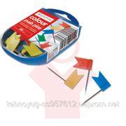 Кнопка-флажок цветная Optima в боксе (29017) фото