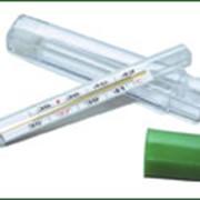 Термометр ртутный максимальный стеклянный TVY-120 фото