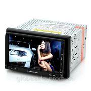 2 DIN Автомобильный DVD Плеер - 7-Дюймовый Сенсорный Экран, GPS, DVB-T ТВ, Windows CE 6.0 фото