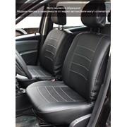 Чехлы Peugeot Boxer 10 3м чер-сер аригон,черный аригон Классика ЭЛиС