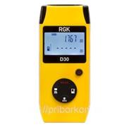 Рулетка лазерная RGK D30 фото
