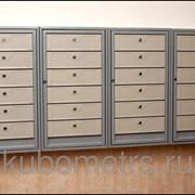 Антивандальные почтовые ящики Радамант 4 секции