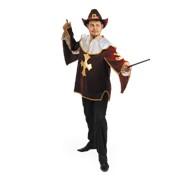 Костюм карнавальный Мушкетер бархат-бордо фото