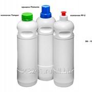 Литровый флакон - Д6 для бытовой и профессиональной химии фото