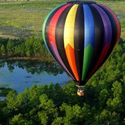 Романтический подарок - полет на воздушном шаре фото
