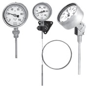 Манометрические термометры (инертный газ) фото