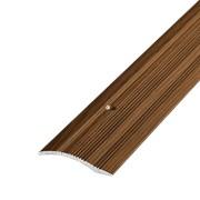 ЛУКА Порог разноуровневый ПР 02-900-091 дуб темный (0,9м) 39,4мм перепад 2,2-10мм фото