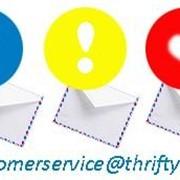 В Thrifty открыт новый ящик службы клиентского сервиса customerservice фото