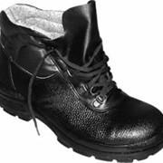 Рабочие ботинки с металлическим подноском фото