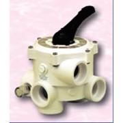 Клапаны специальные для водоемов, бассейнов, форсунки, приборы для измерения уровня воды, термометры для воды, Киев - Многопозиционный, 6-позицион. клапан - III выпускной 63 мм (Praher)