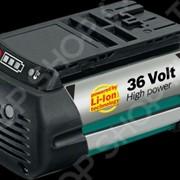 Аккумулятор для газонокосилки Bosch Rotak 34LI/37Li/43Li AKE 30 Li AHS 54 LI фото