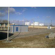 Очистные сооружения в Казахстане фотография