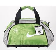 Сумка спортивная Nike зеленая 17х25х35х16 305 /0-58 фото