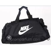 Сумка - рюкзак спортивная Nike черная 25х27х61х17 7056 /0-501 фото