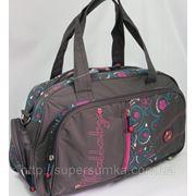 Женская спортивная сумка для фитнеса, тренировок Wallaby Артикул: DK677 (14 л.)серый