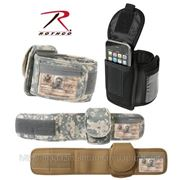 Нарукавная сумка для телефона цвет диджитал,черный США фото