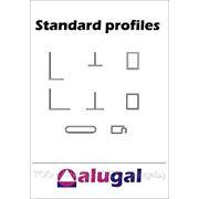 Алюминиевый профиль — стандартные профили фото