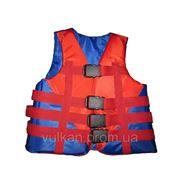 Детские спасательные жилеты 30-50кг фото