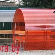 Беседка из поликарбоната Пион(Цвет на выбор)+Манга фото