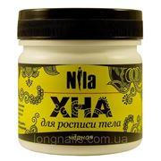 Хна для тату и росписи тела Nila, черная. 100 гр
