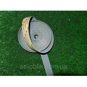 Антискользящая лента 25 мм эластичная серая фото
