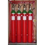 Установки газового пожаротушения