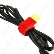 Липучки для проводов, связка для проводов, крепеж наушников удлинителей. фото