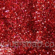 Красный глиттер-5 грамм-0,2 мм фото