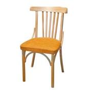 Деревянный венский стул Соло с мягким сиденьем фото