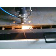Резка лазером листовых металлов фото