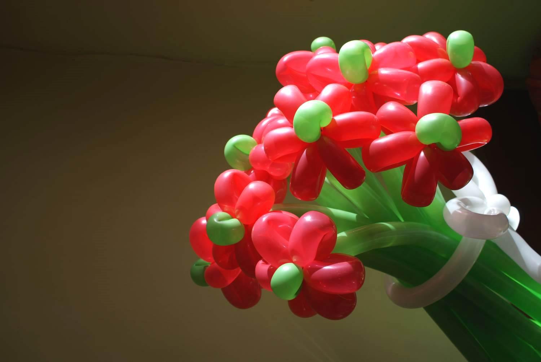 Фото шаров и цветов