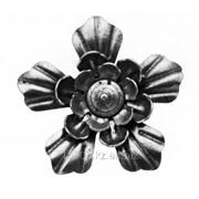 Изделие из металла цветок HY-010 d 90, артикул 14021 фото