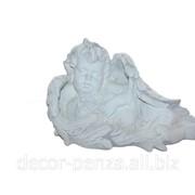 Статуэтка Ангел с кроликом бел 250*400мм фото