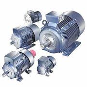 Электродвигатели со встроенным электромагнитным тормозом фото