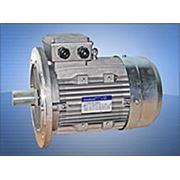 Электродвигатели с электромагнитным тормозом фото