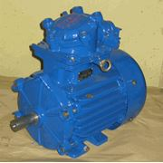 Электродвигатель АИММ 90 L6 IM1081 для химической газовой нефтеперерабатывающей промышленности фото