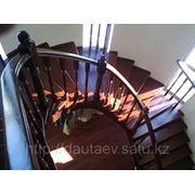 Лестницы винтовые с металлическим каркасом фотография