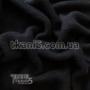 Ткань Микрофлис черный (220 GSM) 1876 фото